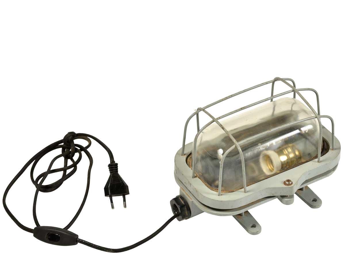 Billede af Trademark Living Rå gammel industrilampe