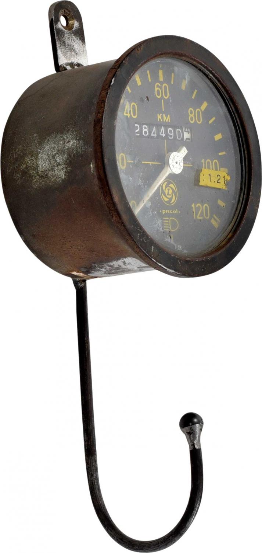 Image of   Trademark Living Jernknage med gammel måleenhed