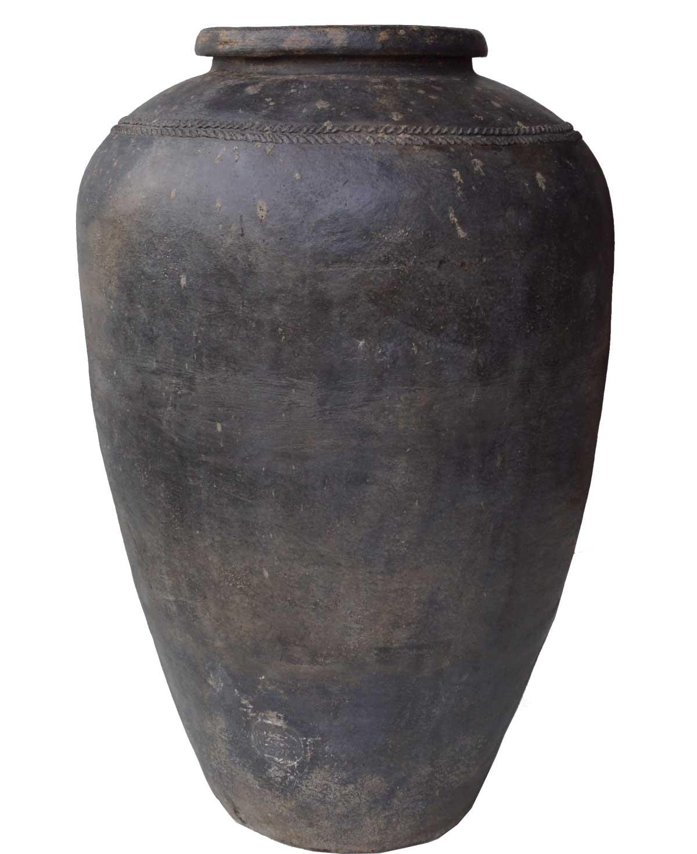 TRADEMARK LIVING Rustik stor og smuk lerkrukke - X large