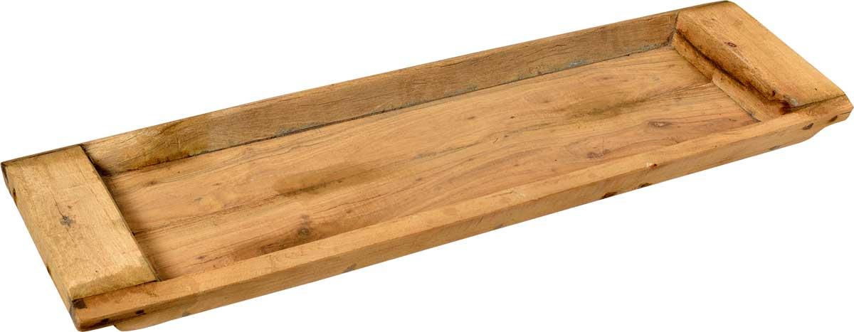 Image of   TRADEMARK LIVING Rustikt og stort aflangt træfad