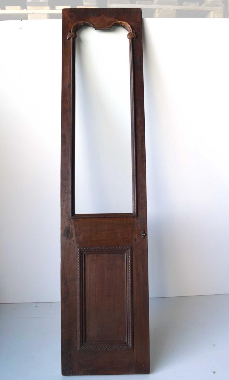 Image of   TRADEMARK LIVING Skøn gammel dør i træ og glasrude