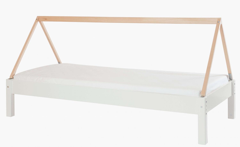 MANIS-H Husseng - hvid m. bøgestel (200x90)