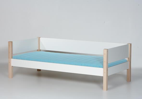 MANIS-H Tor børneseng - hvid/bøg (200x90)