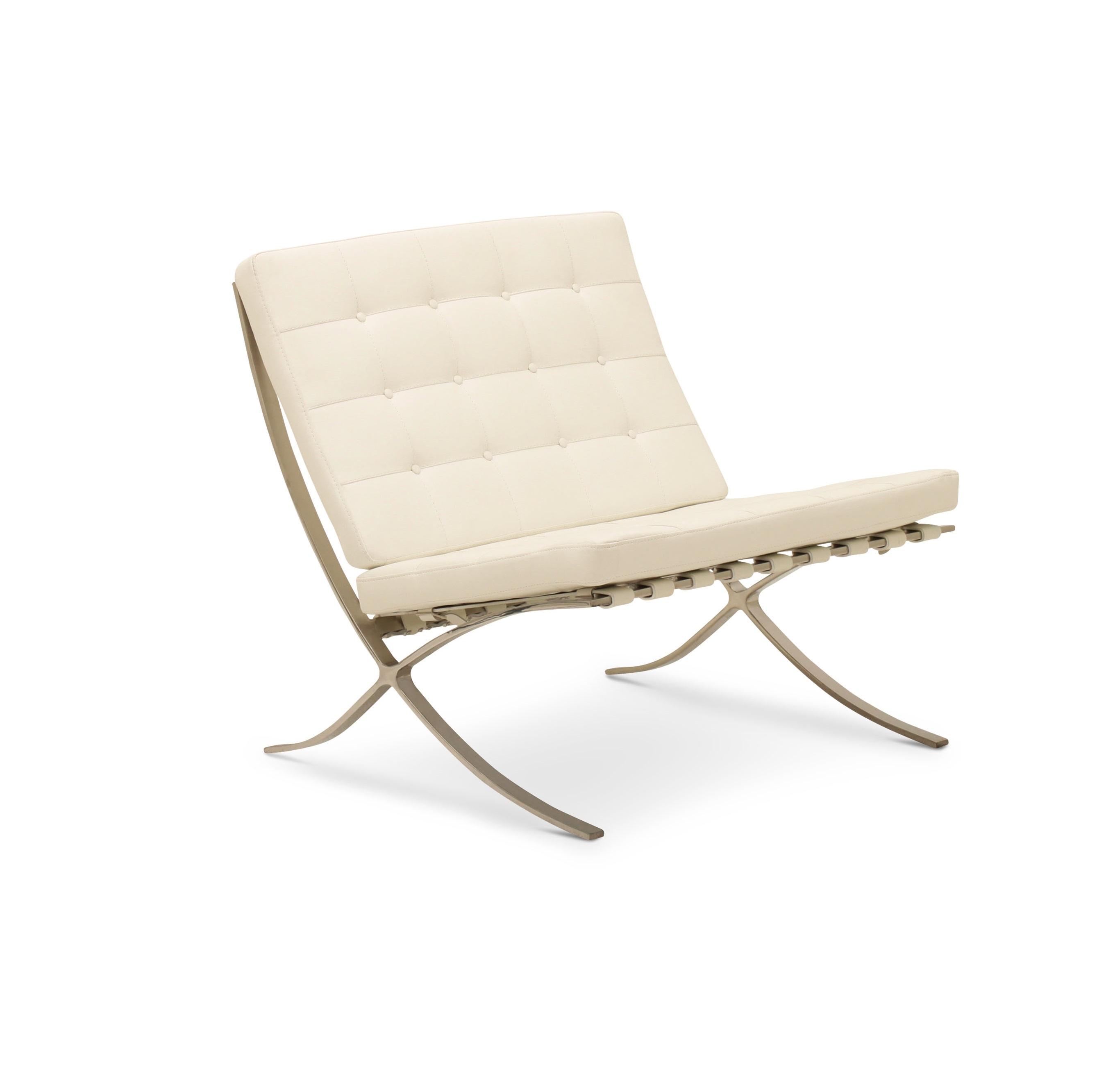 Image of   HAGA Madrid stol - hvid læder