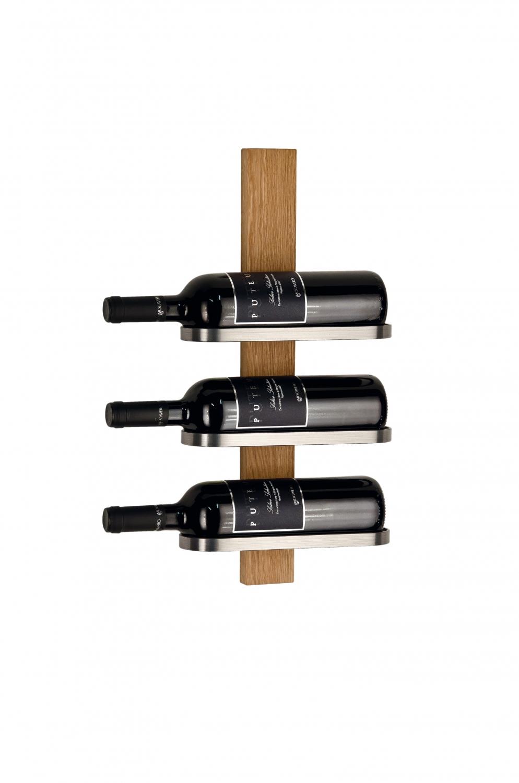 FURBO Mazzi - vinreol til 3 flasker Eg