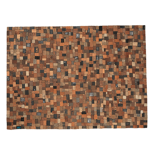 Anmeldelser af FUHRHOME Ankara tæppe, håndlavet, ægte læder