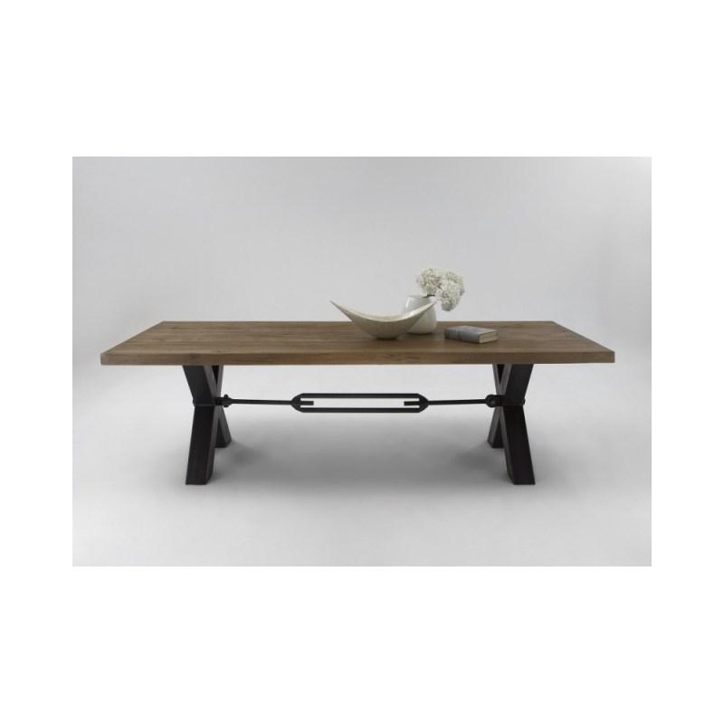 Plankebord i Eg - Mocca Black (220 x 100 cm)
