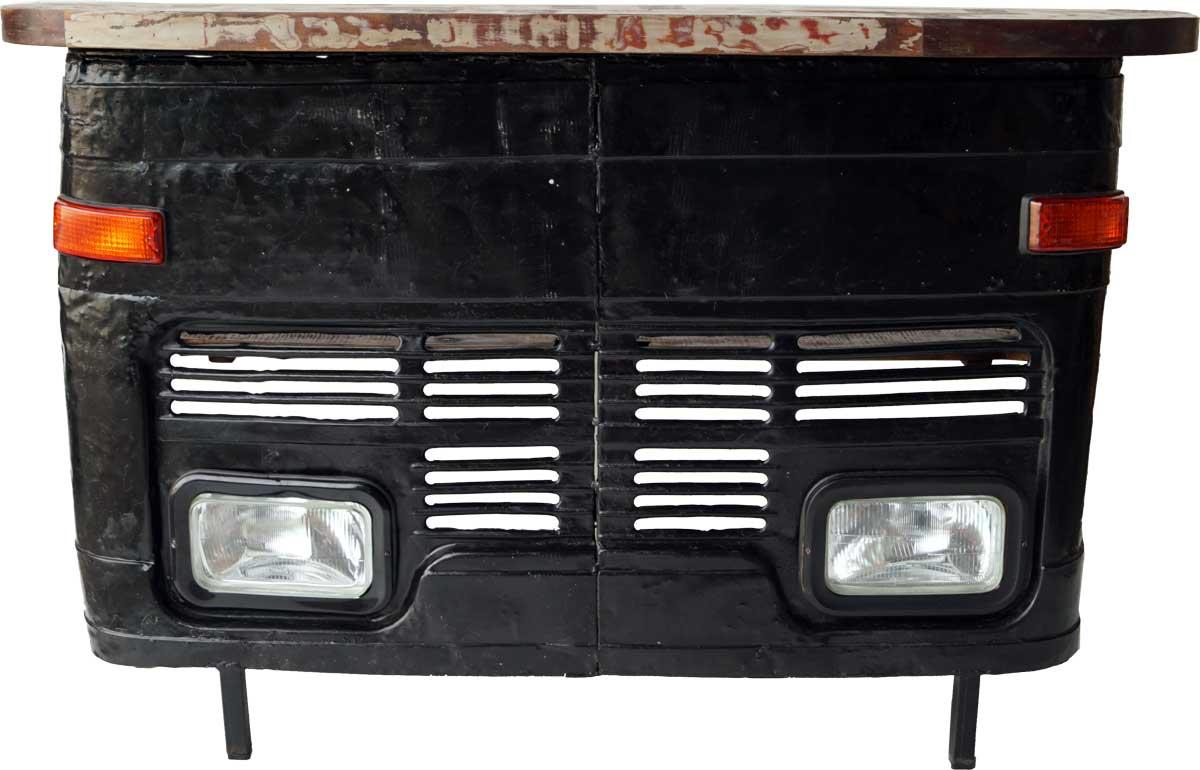 trademark living Trademark living cool bar med et råt udtryk - front fra gammel lastbil på boboonline.dk