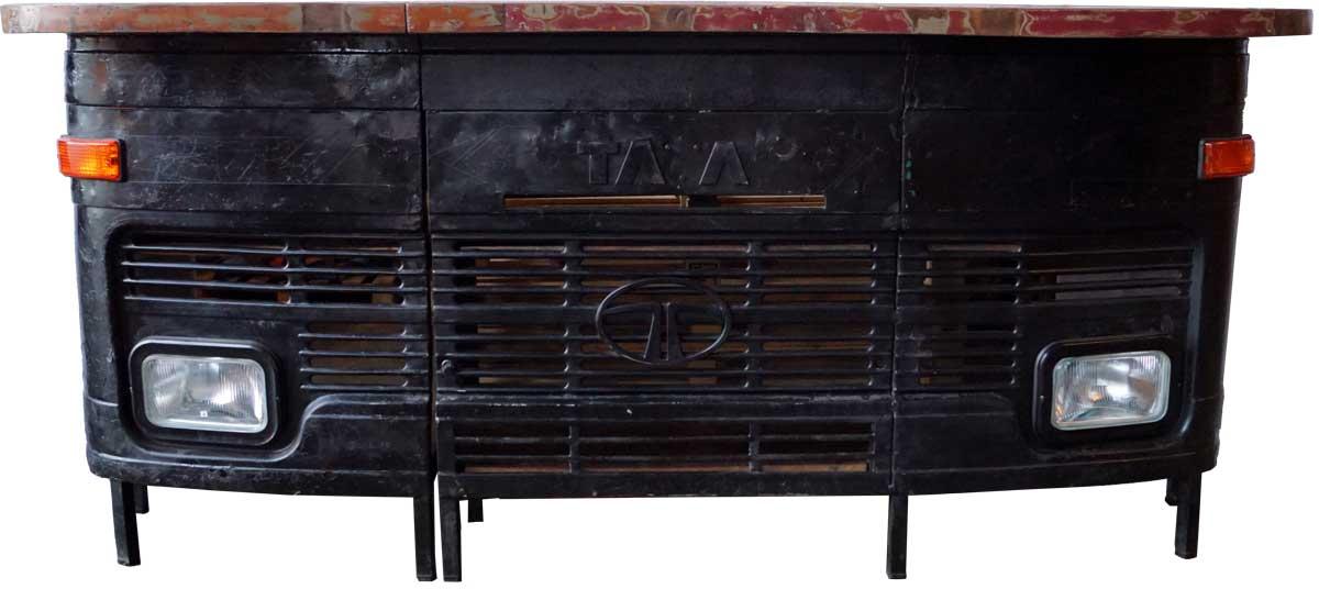 trademark living cool barbord med et maskulin udtryk sort barborde og bardiske bobo. Black Bedroom Furniture Sets. Home Design Ideas