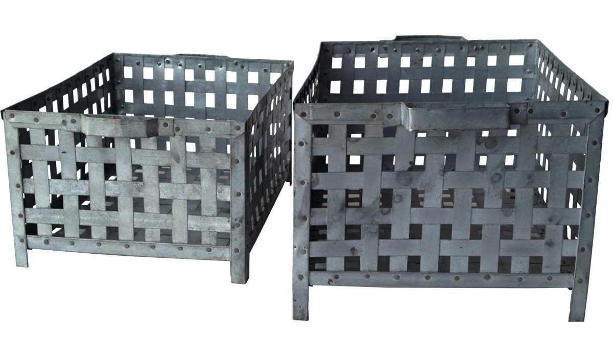 Billede af Trademark Living Cool jernkurve med industrilook - sæt á 2