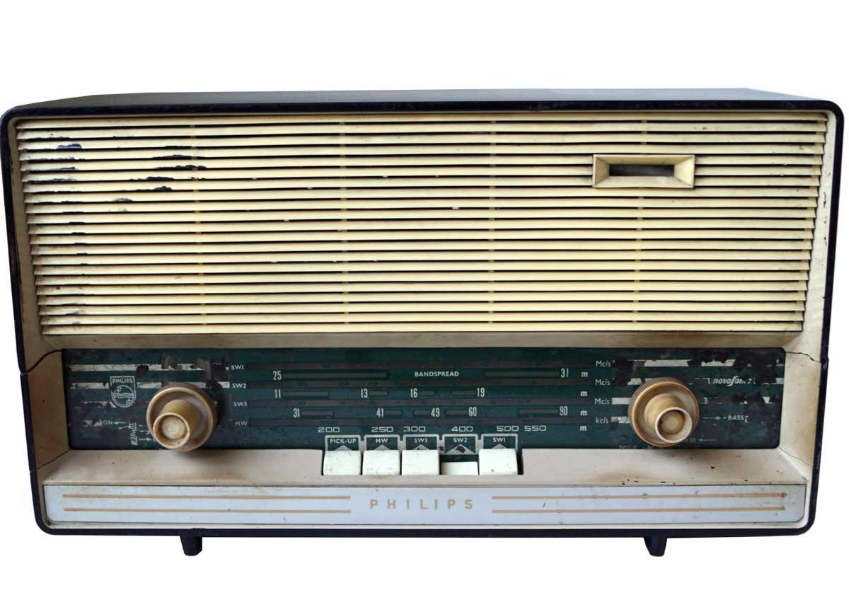 Trademark living original gammel vintage radio - alle er forskellige