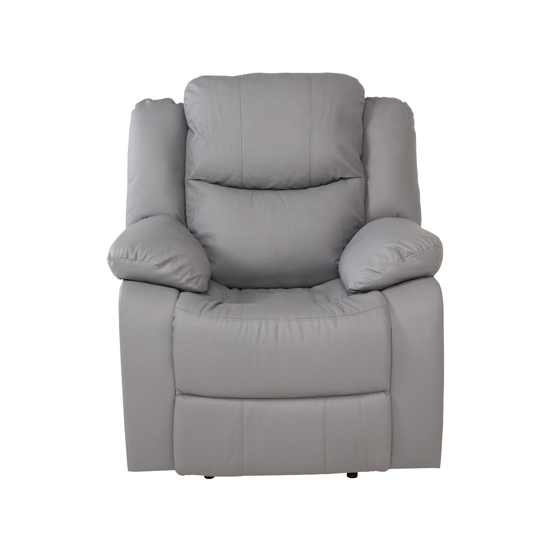 Venture design alba recliner lænestol, m. armlæn - grå polyester fra venture design fra boboonline.dk
