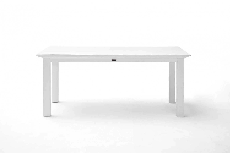 NOVASOLO Halifax spisebord - hvid (200x100)