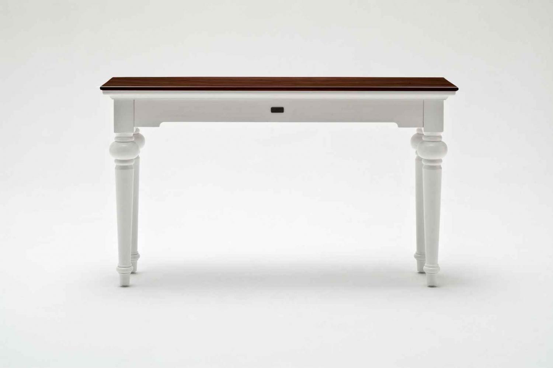 mahogni skrivebord med 2 skuffer