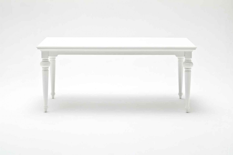 NOVASOLO Provence spisebord - hvid (180x90)