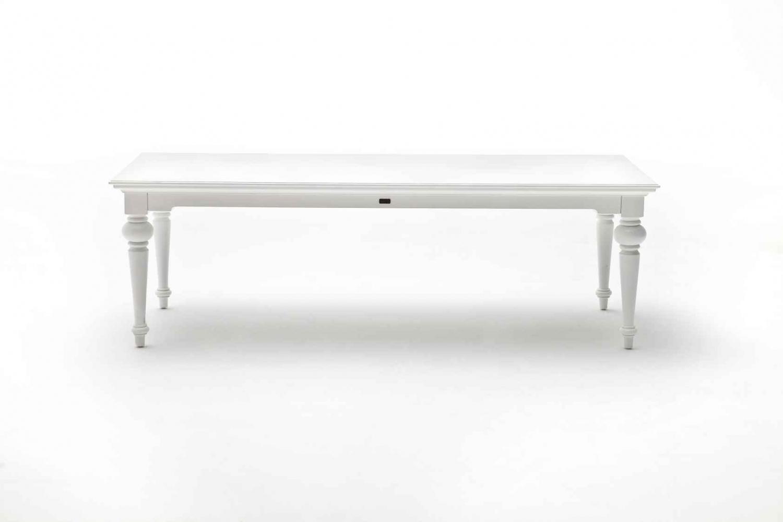 NOVASOLO Provence spisebord - hvid (240x100)