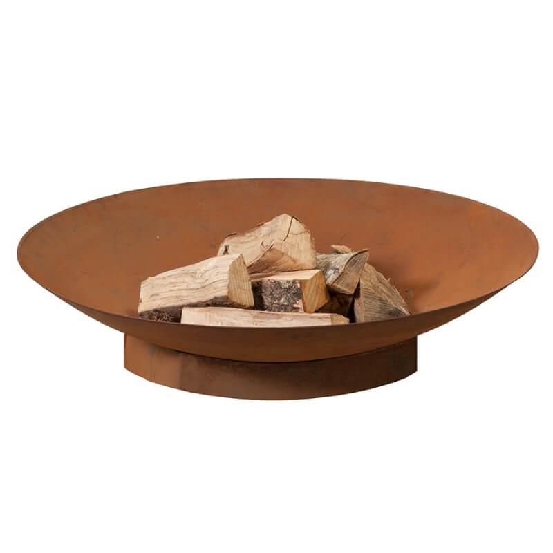 heat Heat schalen bålfad - rust farve i stål, (flere størrelser) ø: 80 cm fra boboonline.dk