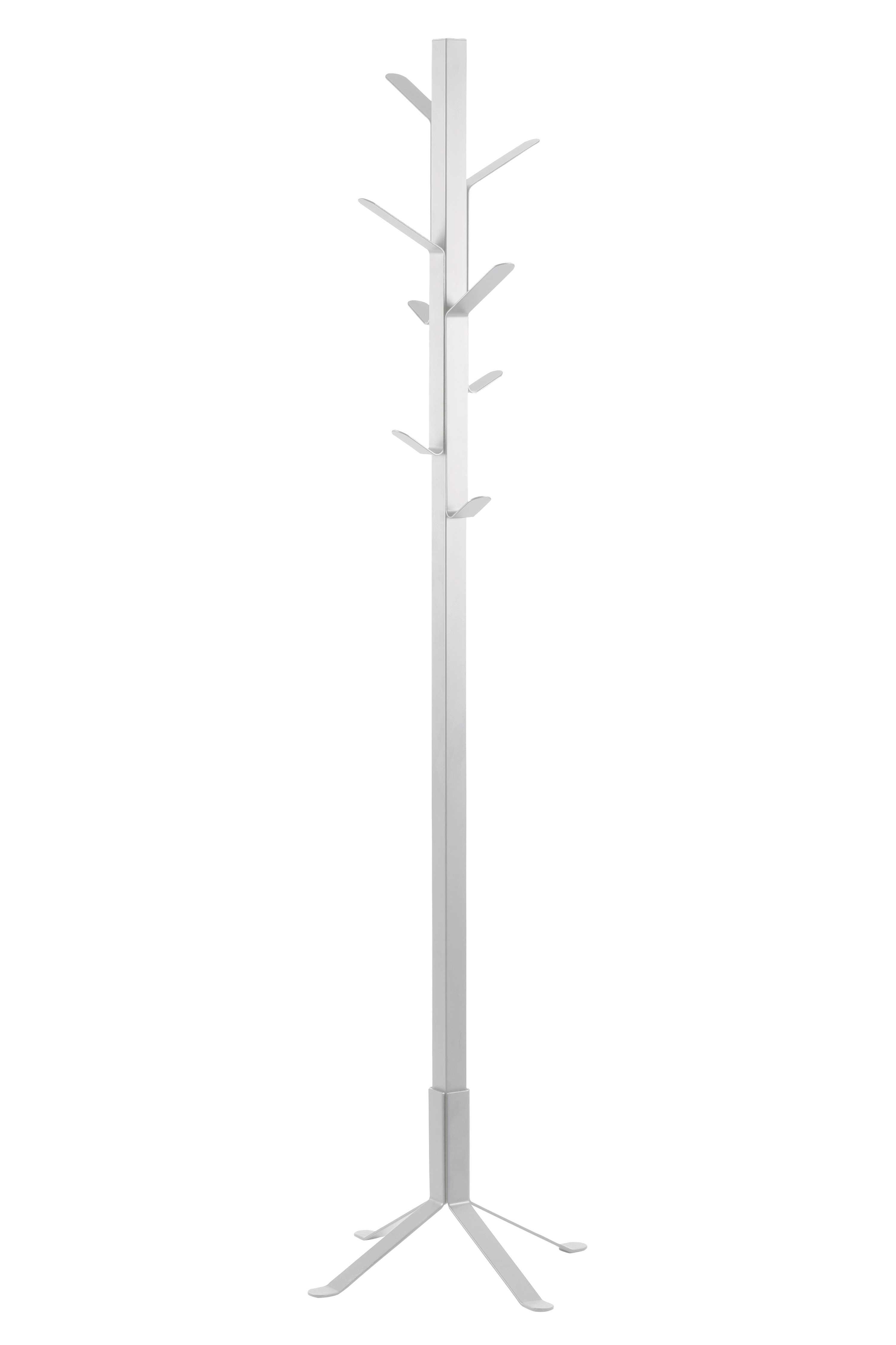 Vinson stumtjener - hvid metal
