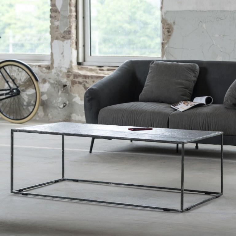 furbo Furbo sofabord - sort sandblæst nikkel (120x60 cm) på boboonline.dk