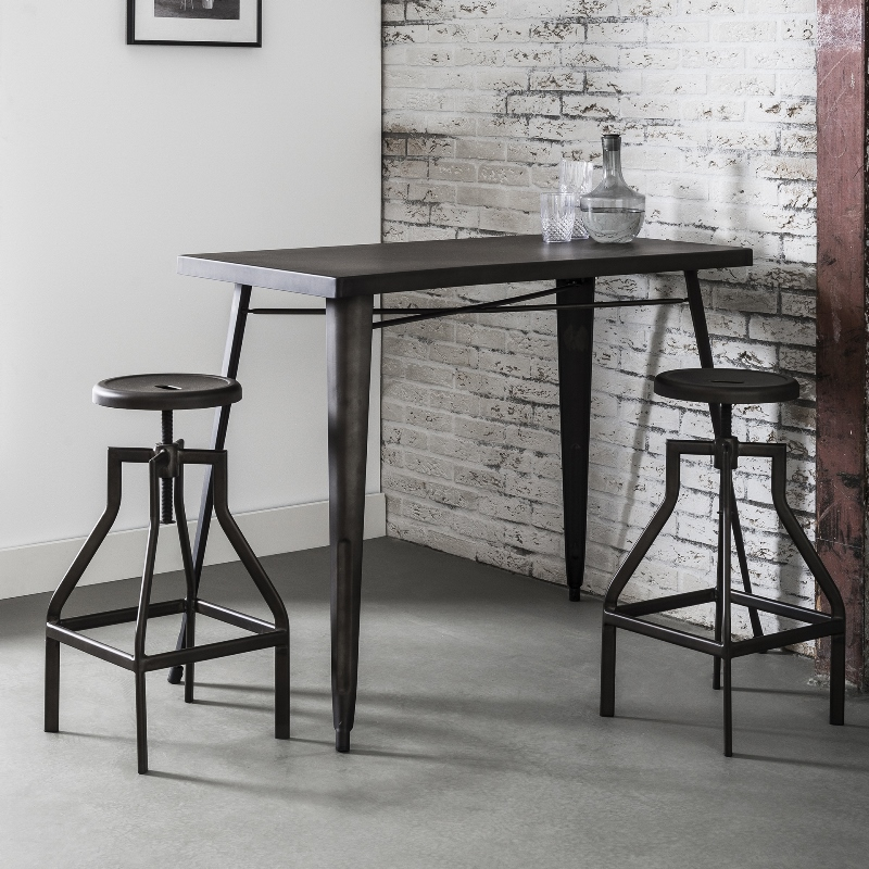 Image of   FURBO Barbord, industriel design, stål