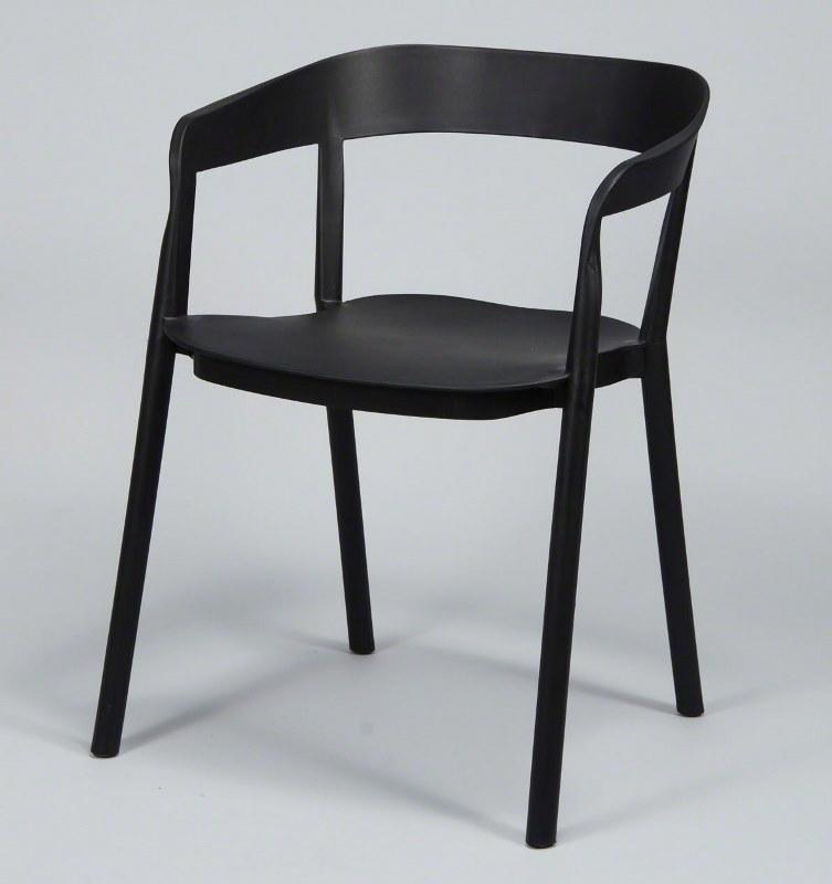 furbo – Furbo spisebordsstol, sort plast på boboonline.dk