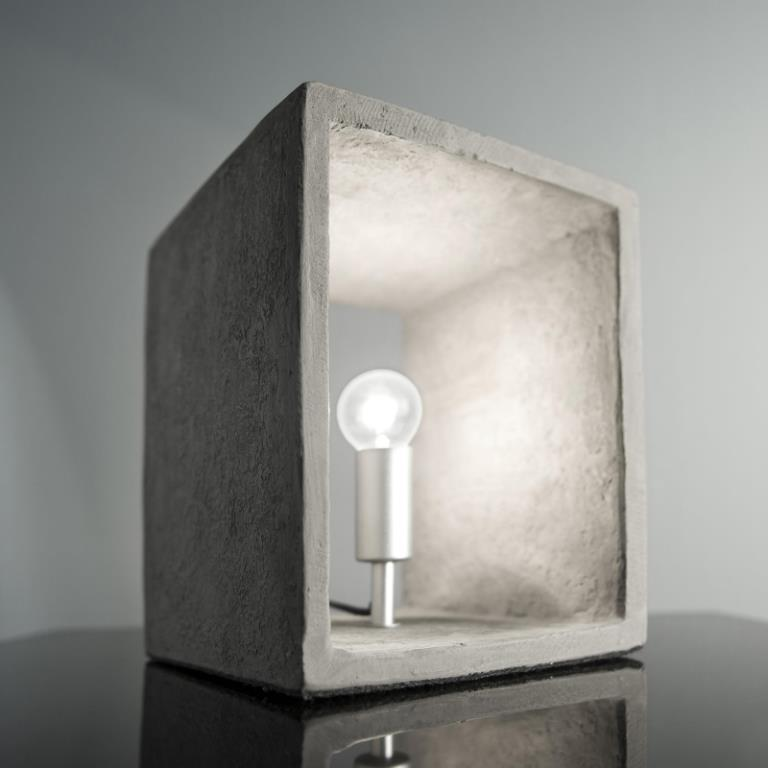 Image of   FURBO Bordlampe, beton