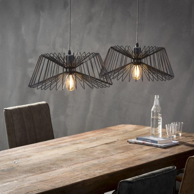 Image of   FURBO Loftslampe, 2 grå lamper