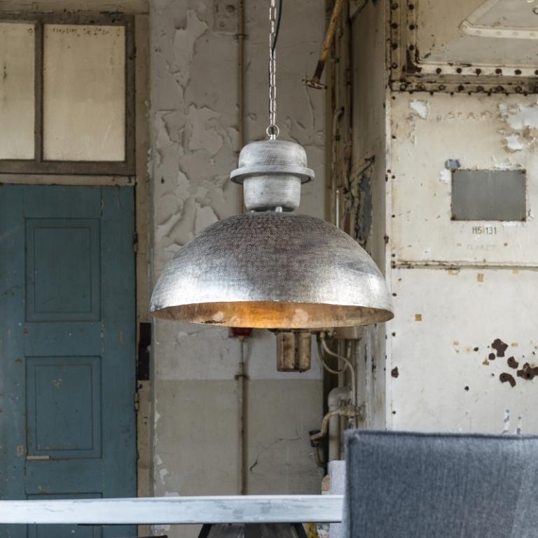 Billede af FURBO Loftslampe, ø 55 cm, vejr patineret sølv