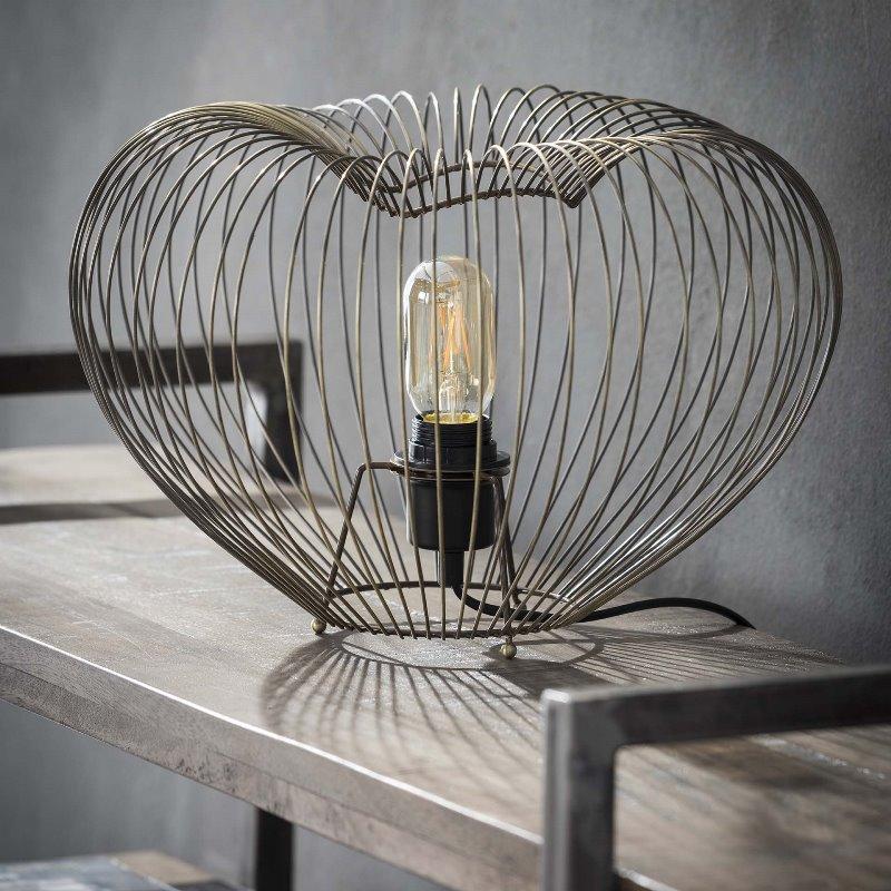 Billede af FURBO Bordlampe, antik bronze