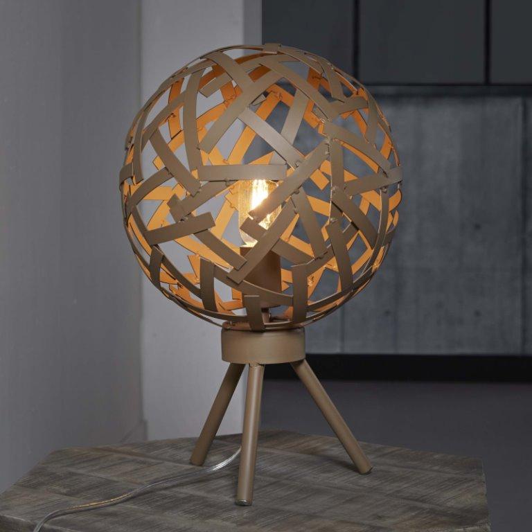 Billede af FURBO Bordlampe, brun rust finish