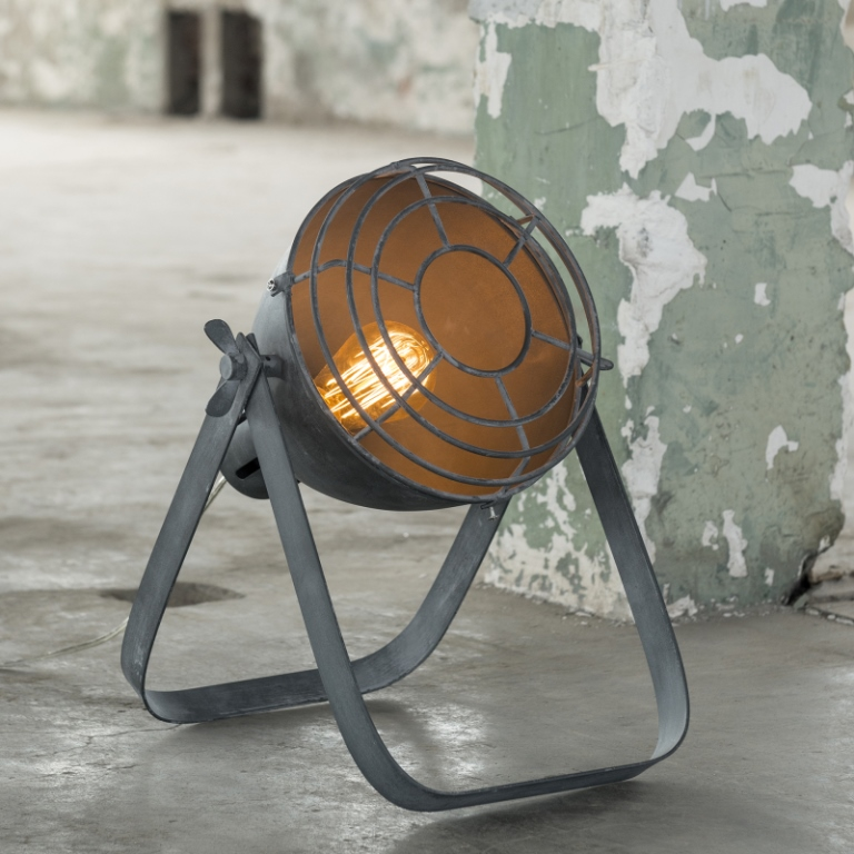Image of   FURBO Bordlampe, vintage, beton look