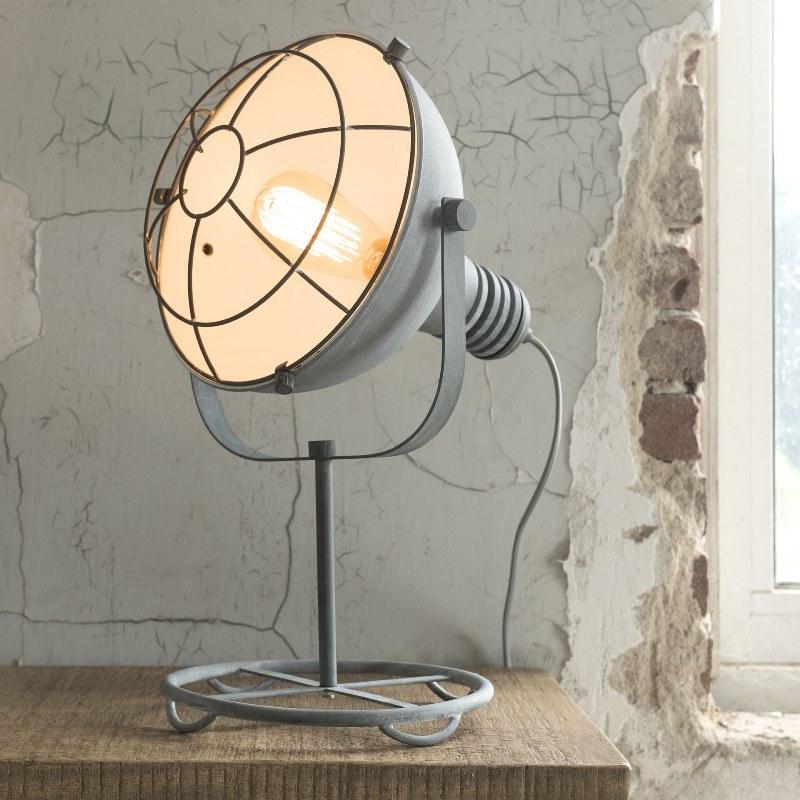 Billede af FURBO Bordlampe, beton farvet metal
