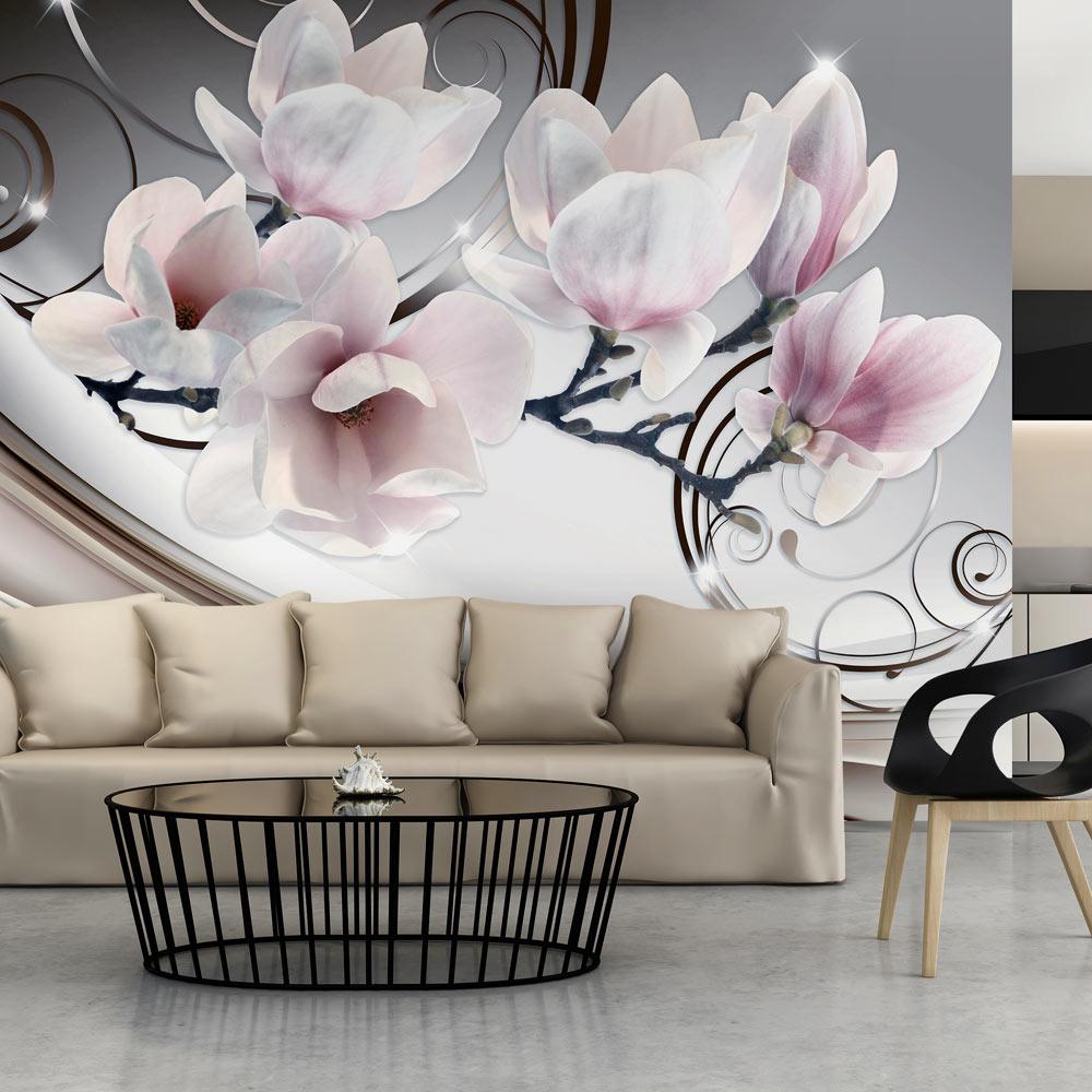 artgeist Artgeist fototapet - beauty of magnolia, flot orkidé i stor (flere størrelser) 400x280 fra boboonline.dk