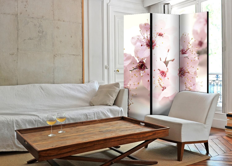 ARTGEIST Cherry Blossom rumdeler - Lyserød blomstermotiv (172x135)
