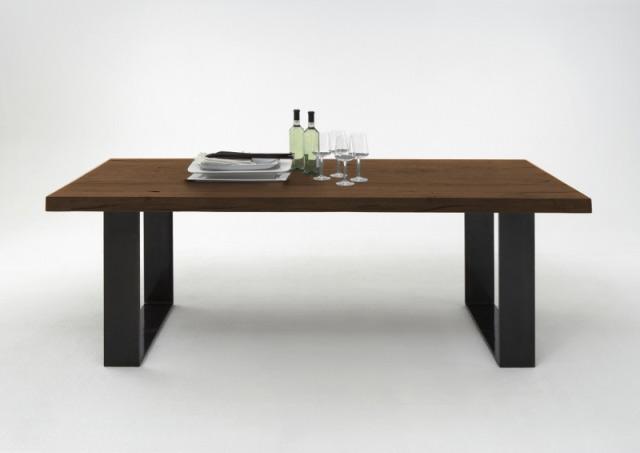 BODAHL Texas spisebord - old bassano egetræ, plankebord 260 x 100 cm