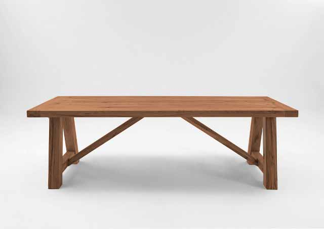 BODAHL Nantes plankebord - Old bassano 260 x 110 cm