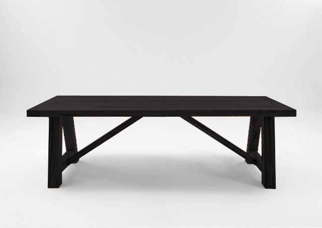 Billede af Bodahl Nantes plankebord - Mocca black 180 x 100 cm