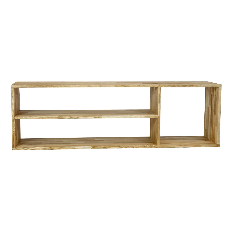 Nocnoi puzzle tv-bænk, m. 3 rum - massivt olieret egetræ (44,5x144) fra nocnoi på boboonline.dk