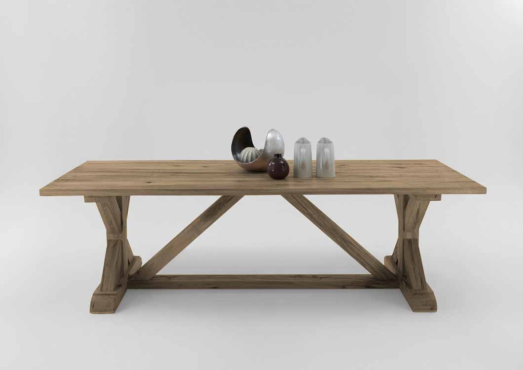 BODAHL Versailles plankebord - desert egetræ 240 x 100 cm
