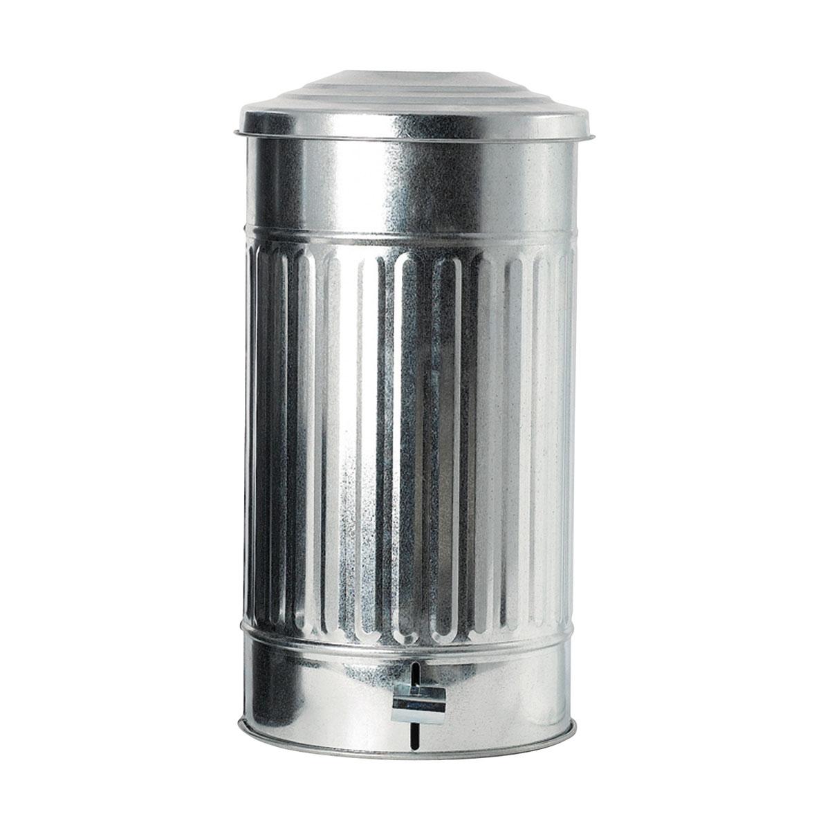 house doctor House doctor affaldsspand - zingalvaniseret jern, m. låg, høj på boboonline.dk