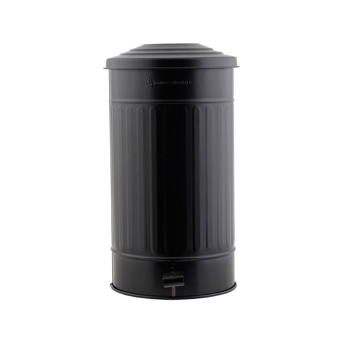 House doctor affaldsspand - mat sort jern, m. låg, høj (ø 25,5) fra house doctor på boboonline.dk