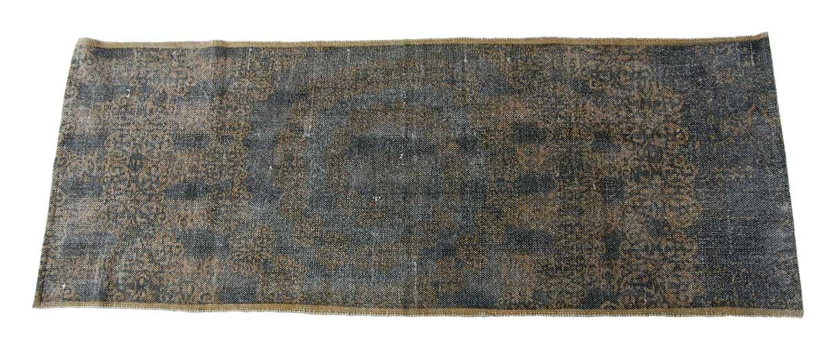 Billede af Trademark Living Tæppe med etnisk mønster - blå