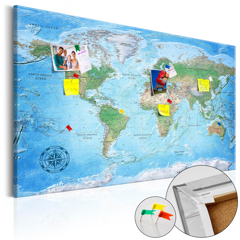 Artgeist Traditionelt verdenskort