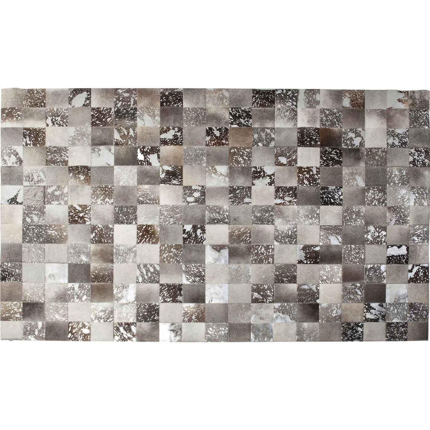 kare design – Kare design cosmo grey fur gulvtæppe - gråt koskind (300x200) fra boboonline.dk