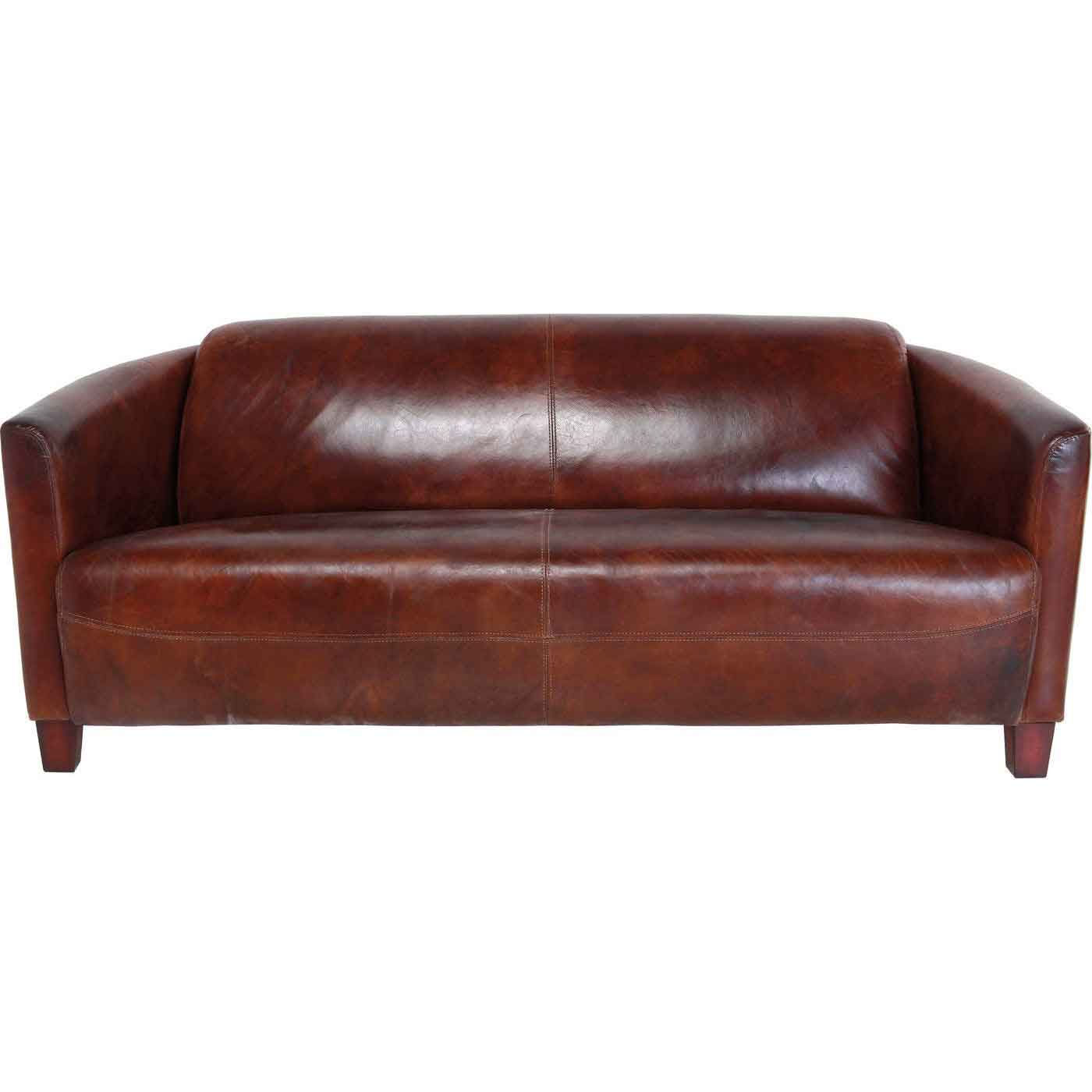 KARE DESIGN Cigar 2 pers. sofa - brunt læder