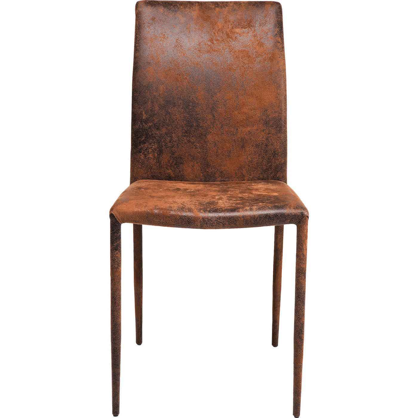 Kare design milano spisebordsstol - brun mikrofiber fra kare design fra boboonline.dk