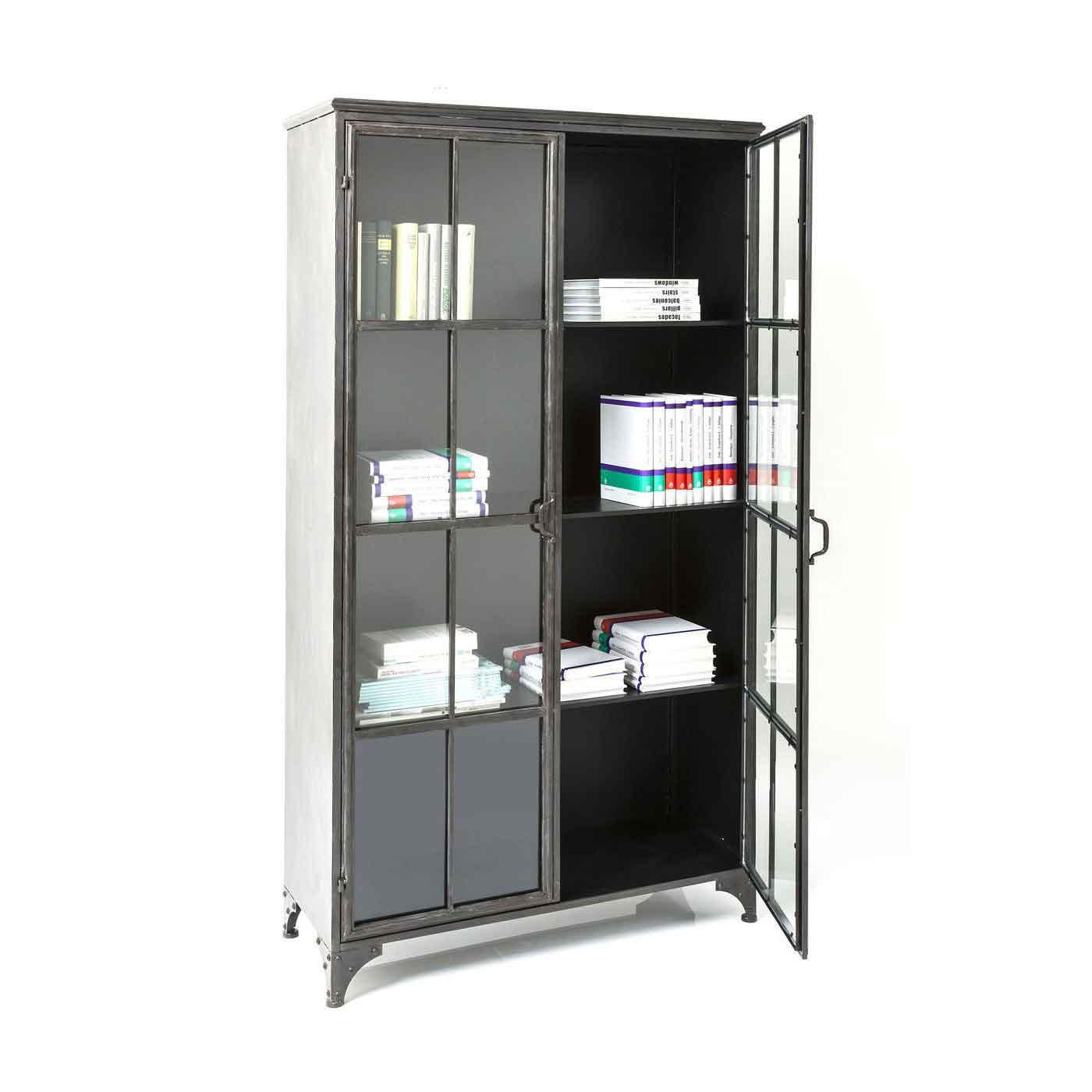 kare design – Kare design factory kabinet - stål og glas på boboonline.dk