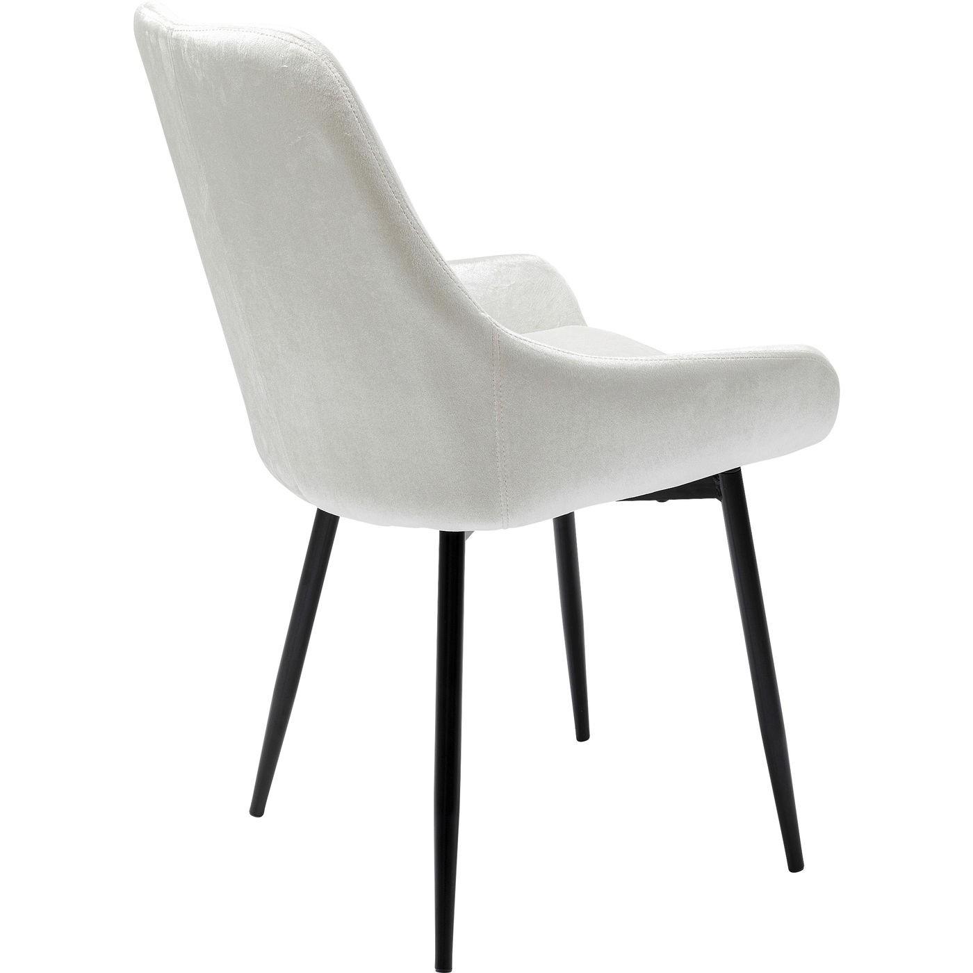 KARE DESIGN East Side Silvergrey XL spisebordsstol sølv polyester og stål