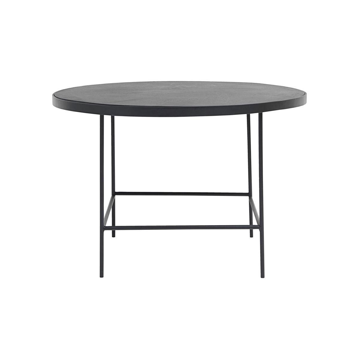 House doctor balance sofabord - sort jern og aluminium, rundt (ø 70) fra house doctor på boboonline.dk