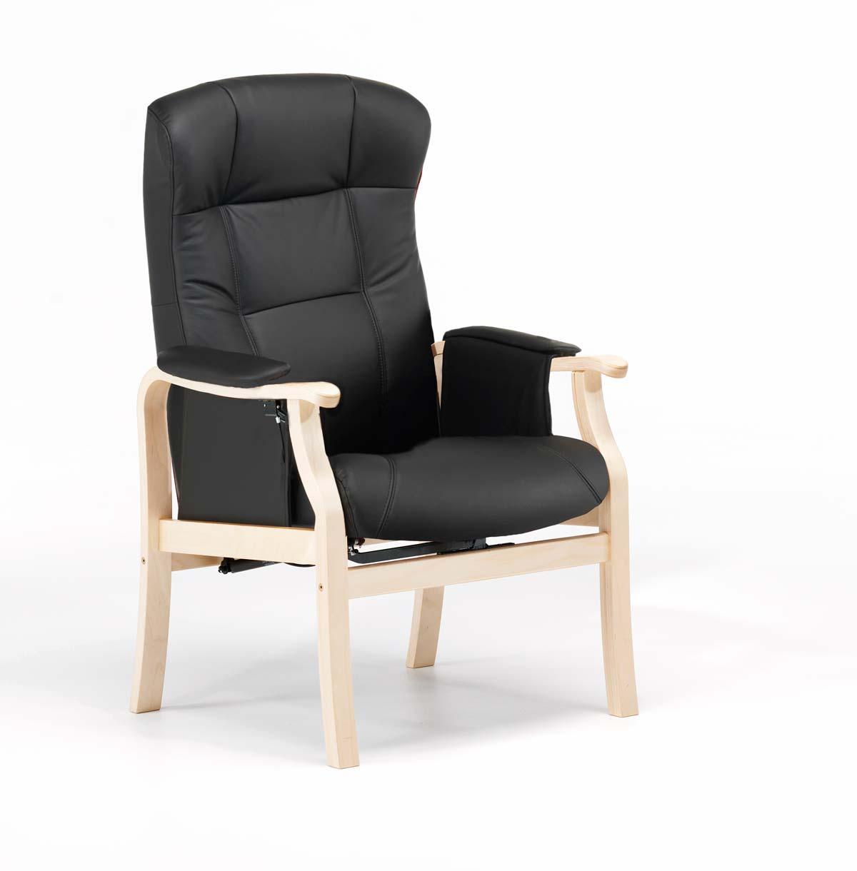 nordic-c Nordic-c sorø standard seniorstol, eksl. skammel - læder fra boboonline.dk